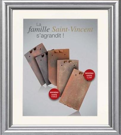 Tuile plate de Saint Vincent